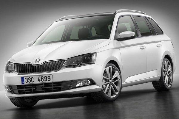 Nová Škoda Fabia Combi. Fabia s karosériou kombi mala premiéru v Paríži a na trh príde začiatkom budúceho roka.
