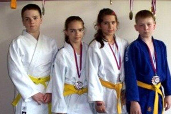Džudisti 1. Judo klubu Prievidza.