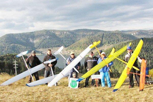 Rýchlostné svahové modely. Na Dobšinskom kopci.
