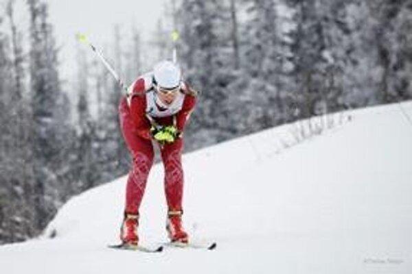 Novácka bežkyňa na lyžiach Barbora Klementová nedokončila pretek majstrovstiev Slovenska.