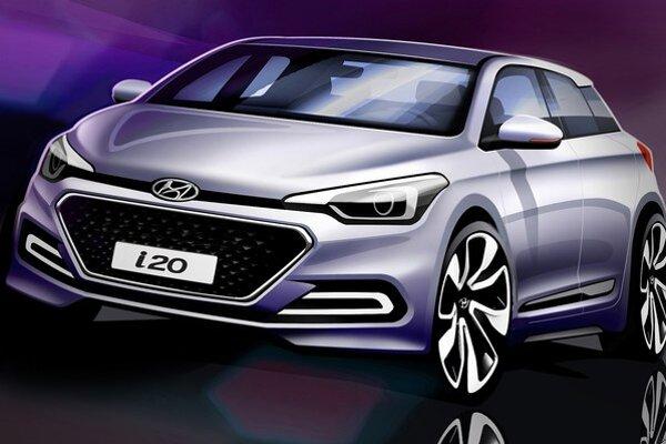 Nový Hyundai i20. Nový model je určený najmä európskym motoristom a jeho dizajn vznikol v dizajnérskom centre v nemeckom Rüsselsheime.
