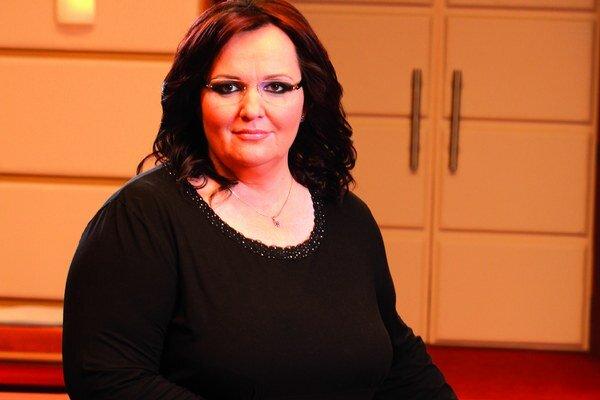 Televízna sudkyňa Renáta Názlerová