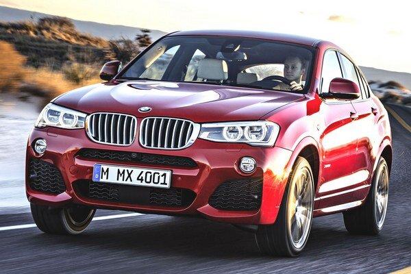 Nové BMW X4. Model X4, ktorý kombinuje znaky radu X a kupé, bude mať svetovú premiéru o týždeň v New Yorku.