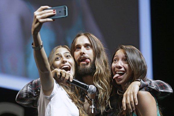 Očarený Slovenskom. Jared chválil u nás všetko, ženy i maškrty.