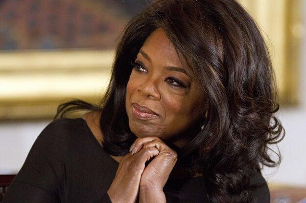 Oprah je na druhom mieste.