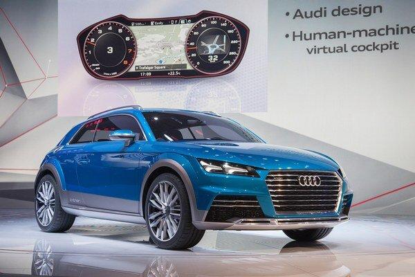 Štúdia Audi allroad shooting brake. Dizajnérske prvky najnovšej štúdie Audi sa uplatnia na pripravovanom sériovom modeli TT.