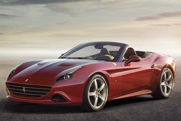 Nové Ferrari California T. Na pohon vozidla slúži dvomi turbodúchadlami prepĺňaný 3,8-litrový vidlicový osemvalec, vyvíjajúci 412 kW.
