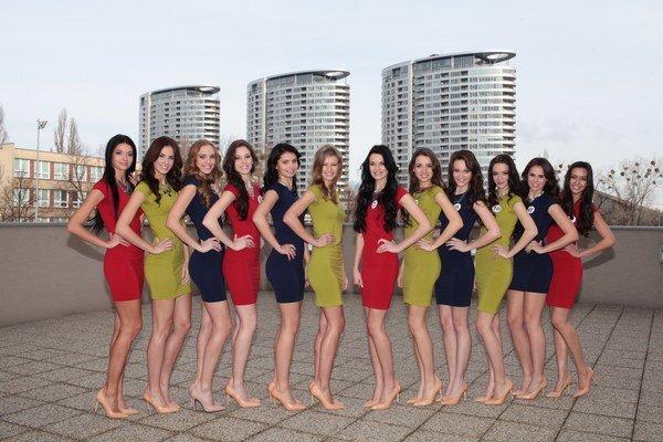 Finalistky Miss Slovensko 2014