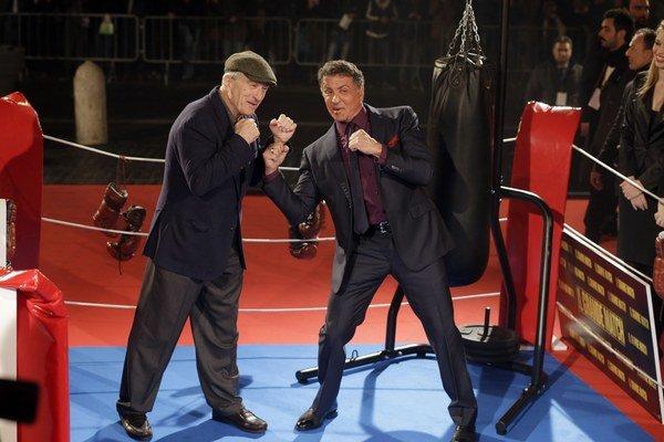 Rocky opäť v ringu.