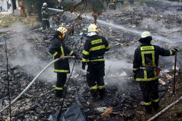 Vlani na hornej Nitre hasiči bojovali s 256 požiarmi.