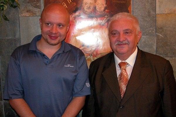 Otec a syn Labudovci.