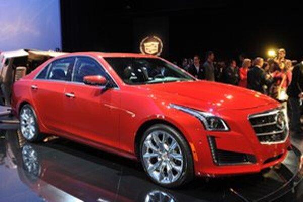 Nový sedan Cadillac CTS. Model CTS by mal na európskom trhu konkurovať vozidlám Audi A6, BMW 5 a Mercedes E.