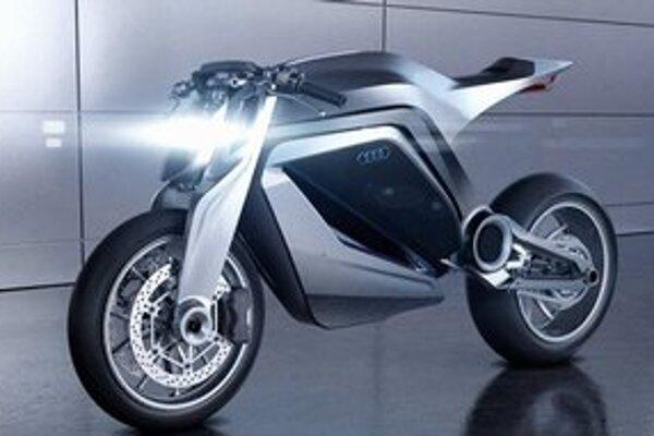 Vízia motocykla Audi. Podľa francúzskeho grafika Thibaulta Devauzeho by takto mohol vyzerať budúci špičkový motocykel Audi.