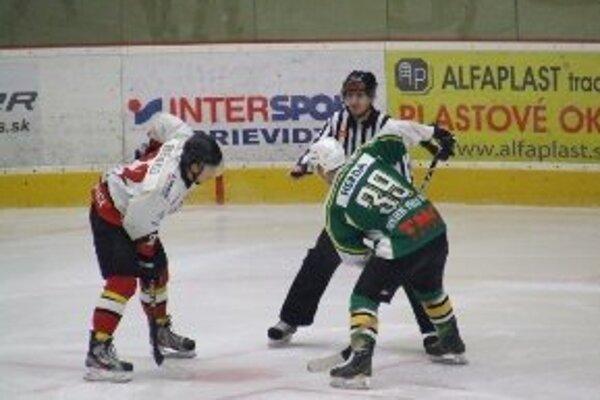 V gólovej prestrelke nestačili hokejisti Prievidze na Považskú Bystricu.