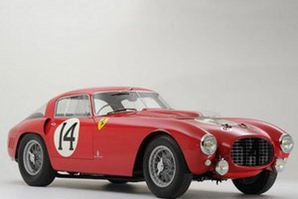 Ferrari 340/375 MM Berlinetta Competizione. Toto historické športové ferrari bolo predané za rekordnú sumu 12,7 milióna dolárov.