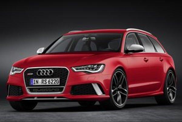 Nové kombi Audi RS 6 Avant. Špičkovú verziu kombi verzie radu 6 vyvinula spoločnosť quattro GmbH.