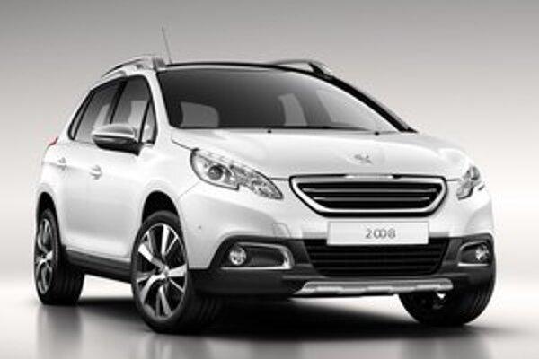 Športovo-úžitkový Peugeot 2008. Svetovú premiéru bude mať nové SUV na autosalóne v Ženeve.