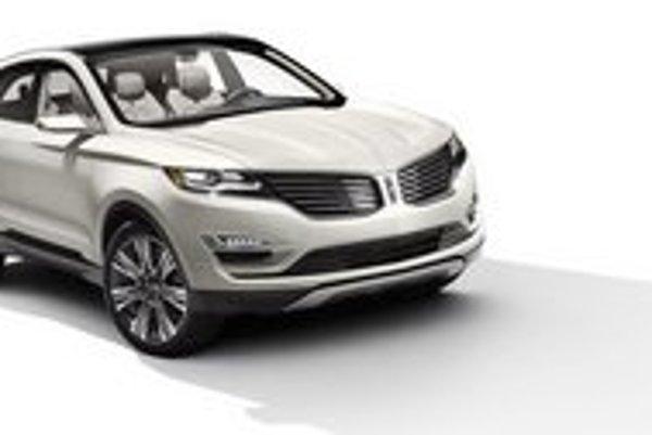 Štúdia Lincoln MKC. Táto štúdia je predzvesťou najmenšieho sériového modelu v celej doterajšej histórii firmy Lincoln.