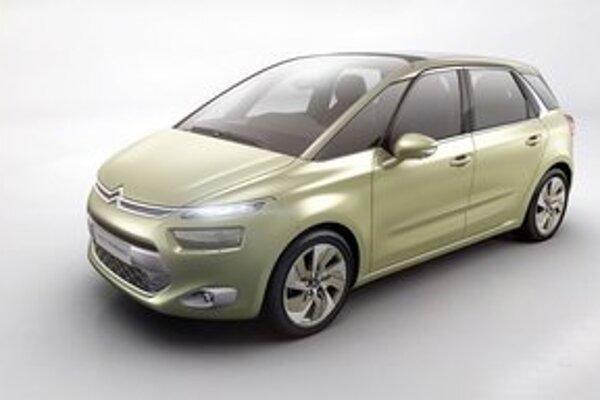 Štúdia Citroën Technospace. Technospace, ktorý bude mať premiéru v Ženeve, je predzvesťou ďalšieho minivanu firmy Citroën.