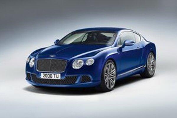 Kupé Bentley Continental GT Speed. Firma Bentley ho predstavuje tento víkend, na Festivale rýchlosti v Goodwoode.