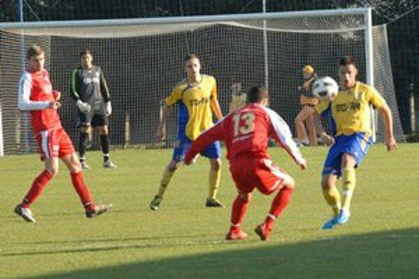 Presadili sa. Rezervisti MFK Košice v Prešove skrotili loptu aj v koncovke.