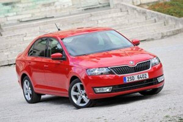 Nová Škoda Rapid. Sériová výroba modelu Rapid, zapĺňajúceho medzeru medzi Fabiou a Octaviou, začala minulý týždeň.