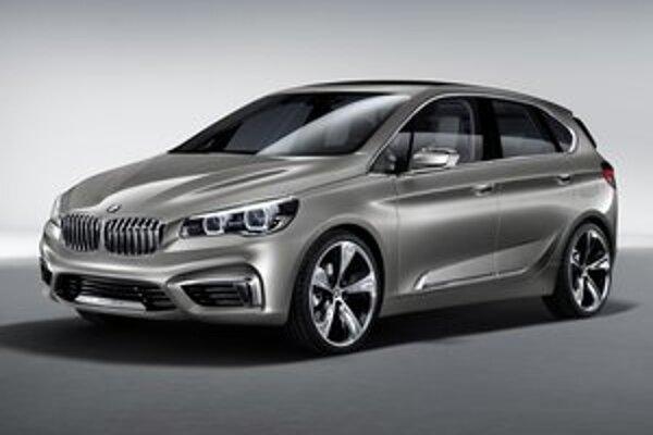 Štúdia BMW Active Tourer. Z tohto koncepčného vanu bude odvodený sériový model s pohonom predných kolies.