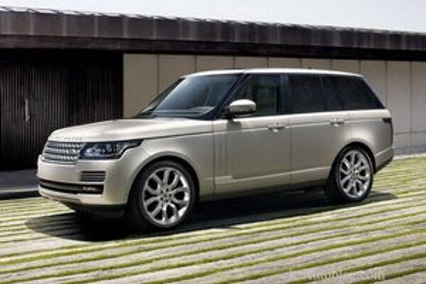 Nový Range Rover. Jeho karoséria je z hliníka, čím sa hmotnosť vozidla znížila o 400 kg.