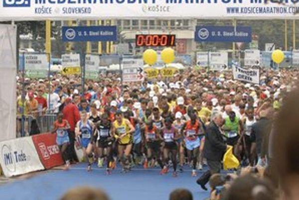 Košický maratón.