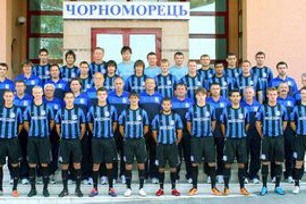 Černomorec Odesa. Ukrajinci dali Košičanom štvorku...