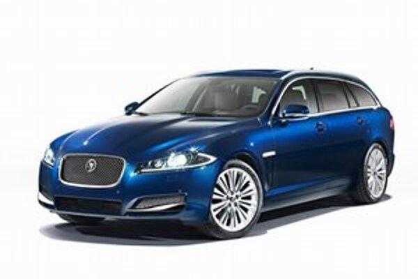 Jaguar XF Sportbrake. Nové kombi firmy Jaguar má premiéru na práve prebiehajúcom autosalóne v Ženeve.
