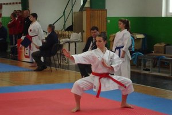 Na majstrovstvách Slovenska v Nových Zámkoch.