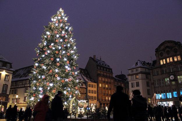 Christkindelsmärik ponúka atmosféru alsaských Vianoc.