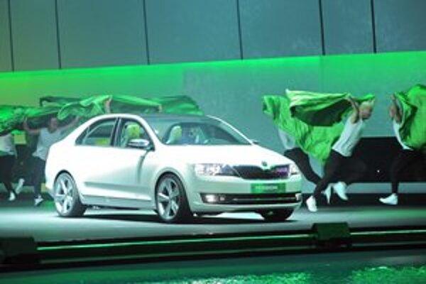 Štúdia Škoda Mission L China. Štúdia, predstavená na nedávnom pekinskom autosalóne, je predzvesťou čínskej verzie nového modelu Škoda Rapid.