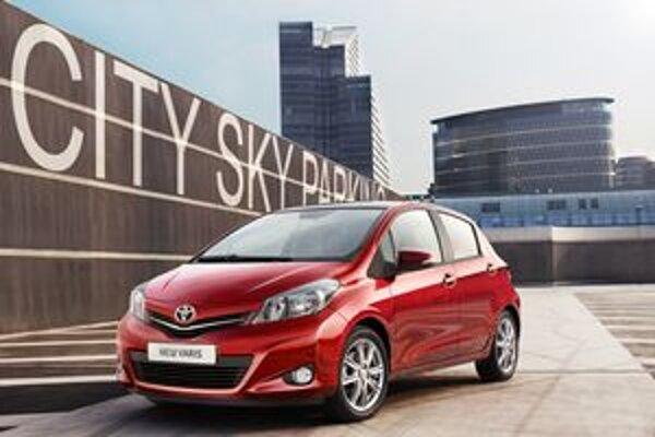 Modernizovaná Toyota Yaris. Yaris najnovšej verzie sa vyrába vo Francúzsku a na trh príde na jeseň.