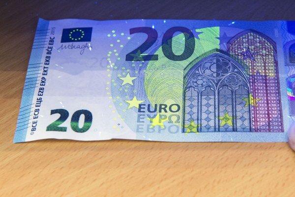 Nová 20-eurovka.