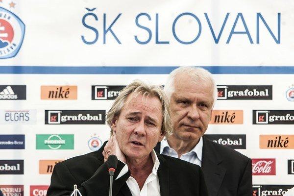 Majiteľ Slovana Bratislava Ivan Kmotrík.