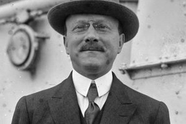 André Citroën. V roku 1919 založil automobilku, ktorá je dnes súčasťou koncernu PSA Peugeot Citroën.