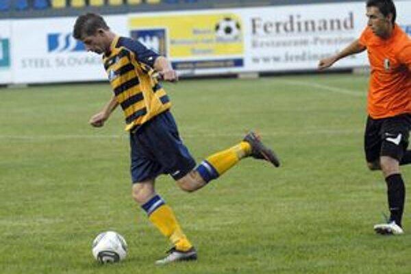 Chýbal. Palencsár dostal v Lučenci červenú a oslabil útok FK Bodva.