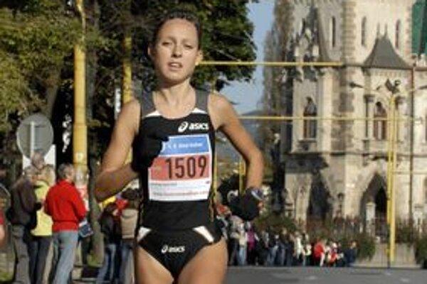 Katarína Bérešová. Chystá sa na svoj maratónsky debut.