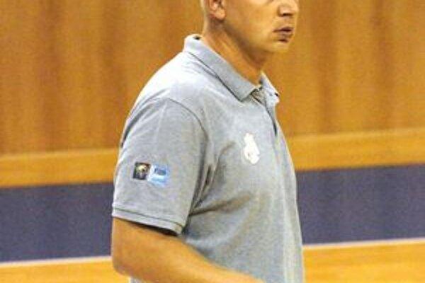 Maroš Kováčik. Tréner Dannax Sport Košice.