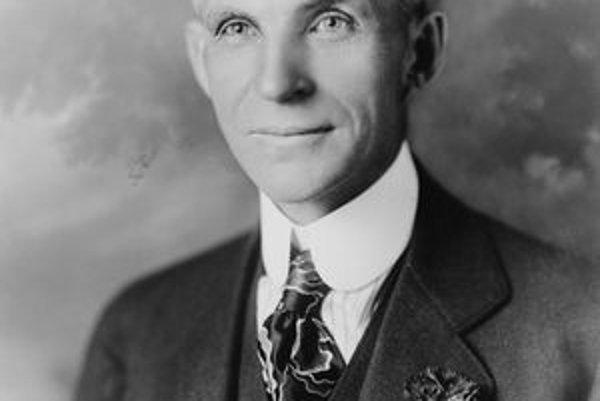 Henry Ford. Ford sa pričinil o to, že z pôvodne luxusného artiklu sa automobil stal všeobecne rozšíreným dopravným prostriedkom.