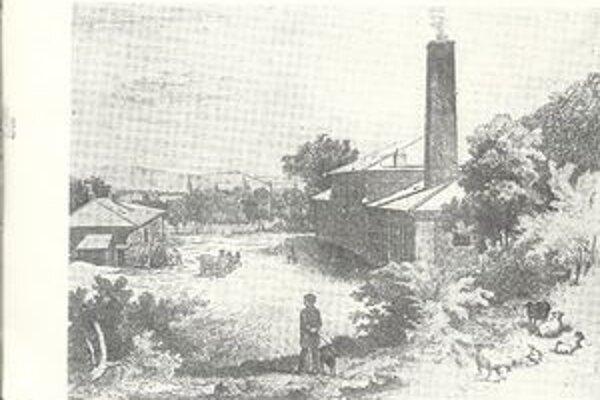 Továreň na výrobu klincov, známa ako klinčikáreň, v Čermeľskom údolí v Košiciach z konca 19. storočia.