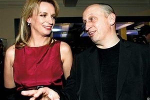 Kraus a Chýlková. Tvoria spokojný pár už viac ako 15 rokov.