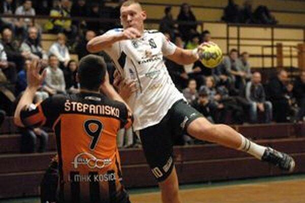 Prešovská sila. S Kristopansom si Košičania najmä na začiatku zápasu nevedeli poradiť.