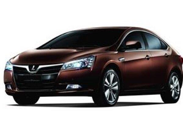 Nový sedan Luxgen5. Svojou oblúkovitou strechou pripomína taiwanský sedan športové kupé