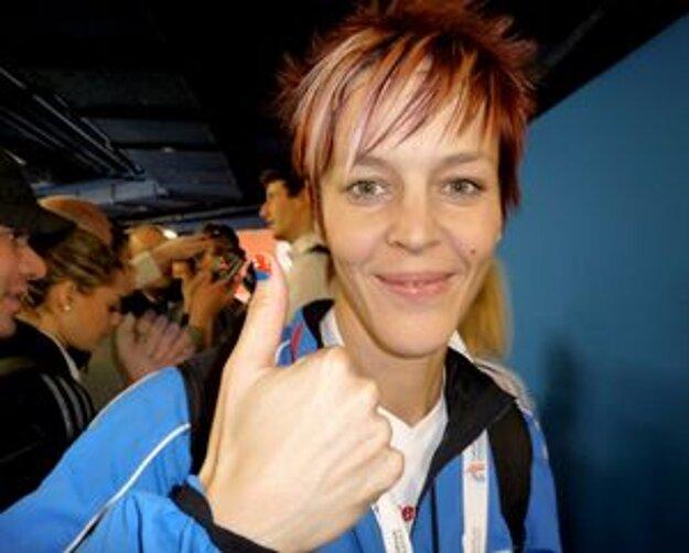 Dana Velďáková zabojuje o finálovú miestenku.