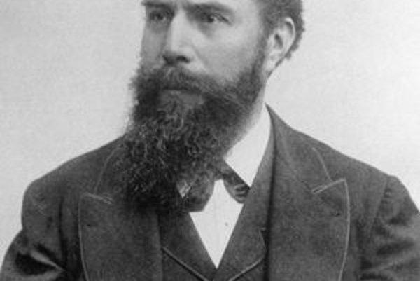 Wilhelm Conrad Röntgen. Za objav žiarenia X dostal v roku 1901 vôbec prvú Nobelovu cenu za fyziku.