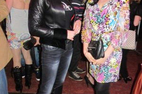 S kolegyňou Košičankou. Adriana Kmotríková, Andrea Belányi, ale aj Aneta Parišková dokazujú, že východniarky sú krásne, šikovné a úspešné.