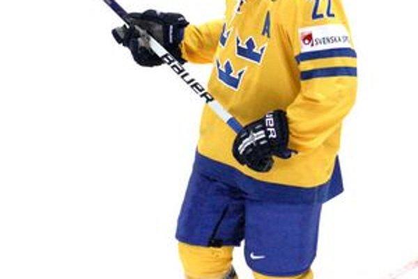 David Petrasek. Patrí k oporám Švédska, dal jeden gól a má tri asistencie.